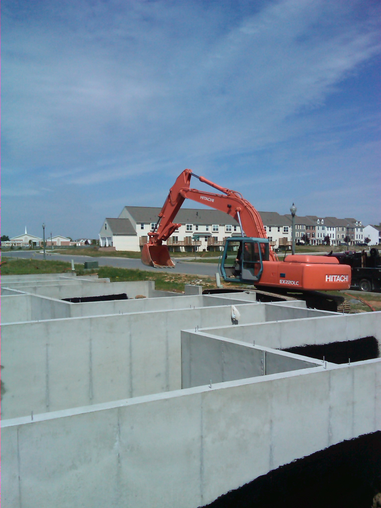 Excavating Services Lancaster Poured Walls
